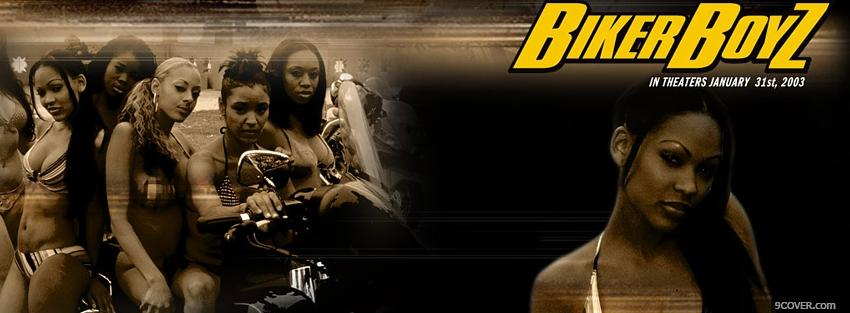 Photo biker boyz movie Facebook Cover for Free