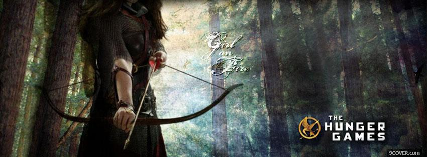 the hunger games in the forest Photo Facebook Cover
