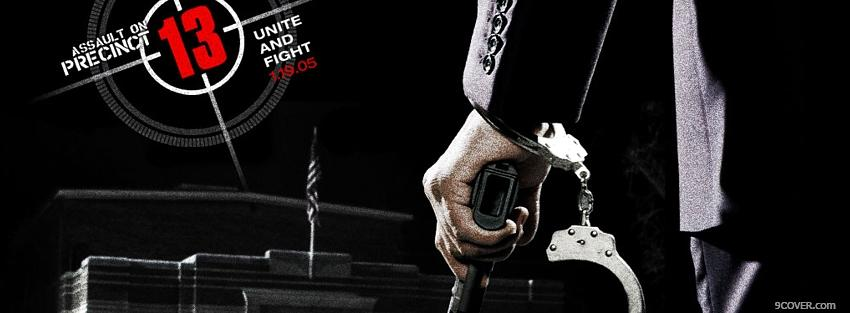 Photo assault on precinct 13 movie Facebook Cover for Free