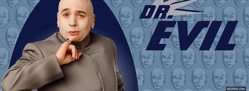 Photo movie austin powers dr eveil Facebook Cover for Free