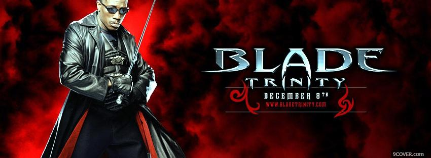 Photo movie blade trinity vampire slayer Facebook Cover for Free