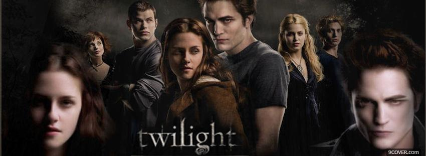 Photo movi twilight together forever Facebook Cover for Free