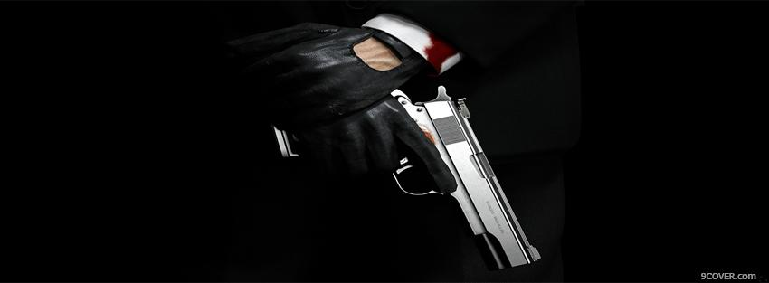 Photo movie hitman absolution Facebook Cover for Free