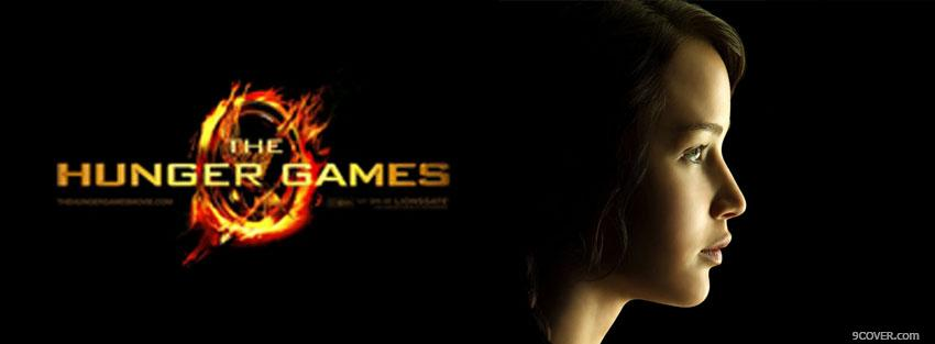 Photo the hunger games and katniss Facebook Cover for Free