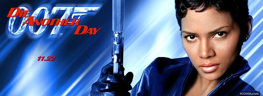Photo halle berry in die another day Facebook Cover for Free