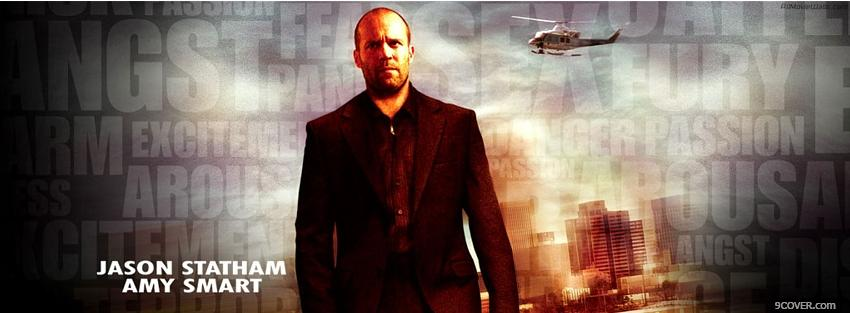 Photo jason statham and amy smart movie Facebook Cover for Free