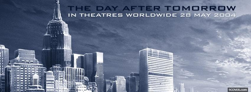 Photo the day after tomorrow movie Facebook Cover for Free
