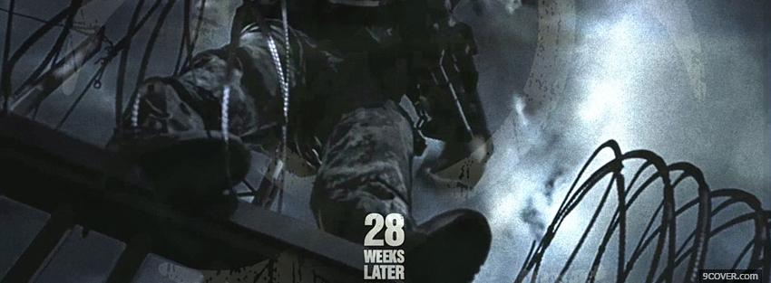 Photo 28 weeks later movie Facebook Cover for Free
