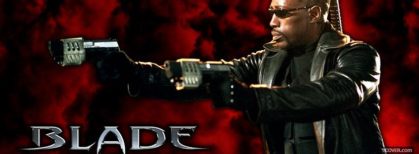 Photo movie blade trinity Facebook Cover for Free
