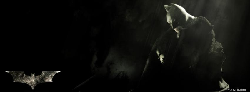 Photo batman begins movie Facebook Cover for Free