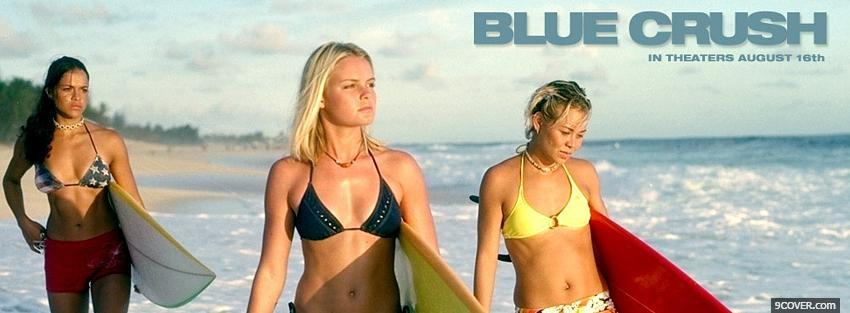 Photo blue crush movie Facebook Cover for Free