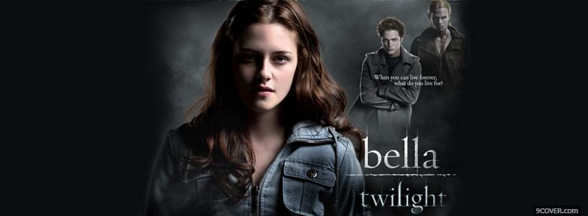 Photo movie bella twilight Facebook Cover for Free