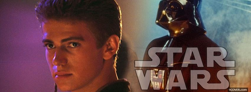 Photo movie star wars anakin skywalker Facebook Cover for Free