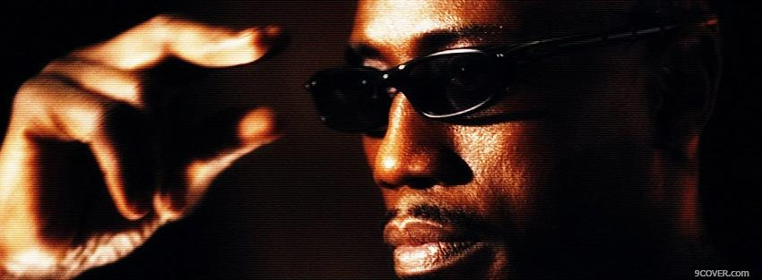 Photo wesley snipes blade Facebook Cover for Free