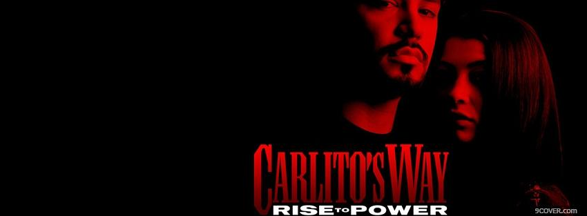 Photo carlitos way rise to power Facebook Cover for Free