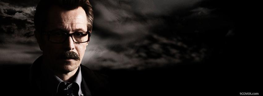 Photo movie actor gary oldman Facebook Cover for Free