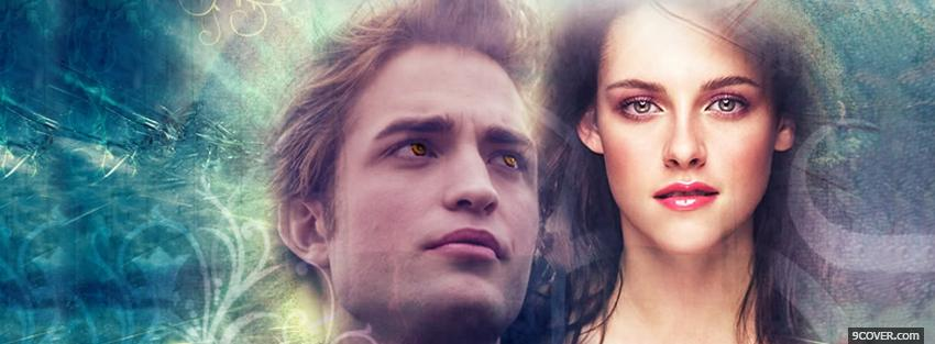 Photo movie perfect love edward and bella Facebook Cover for Free