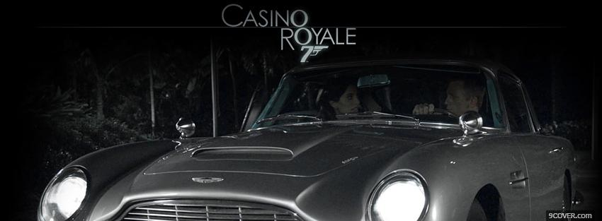 Photo movie casino royale car Facebook Cover for Free