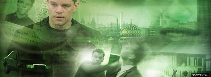 Photo movie the bourne supremacy Facebook Cover for Free