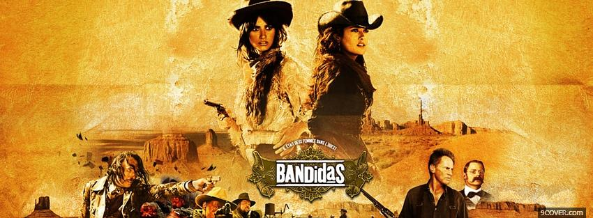Photo movie bandidas latinas Facebook Cover for Free