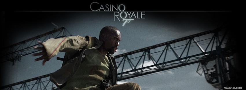 Photo movie casino royale running Facebook Cover for Free