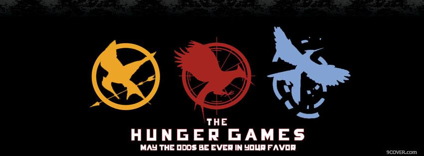 Photo the hunger games eagles Facebook Cover for Free
