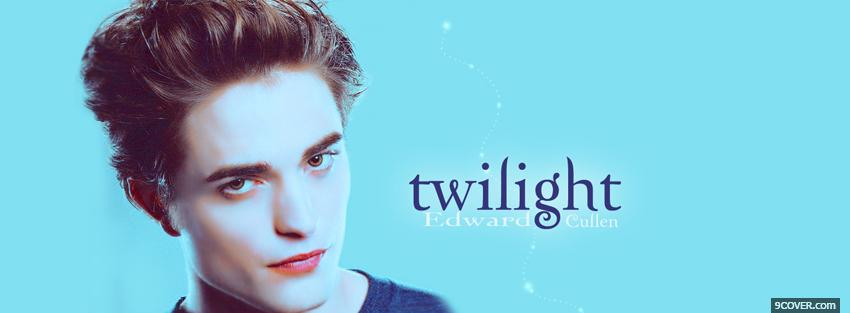 Photo twilight edward cullen Facebook Cover for Free