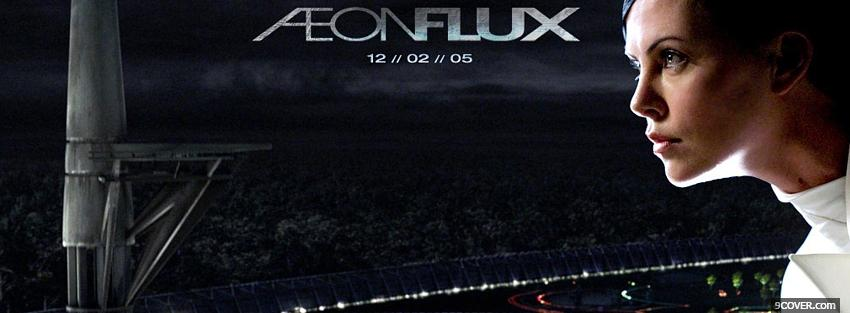 Photo movie aeon flux ad Facebook Cover for Free