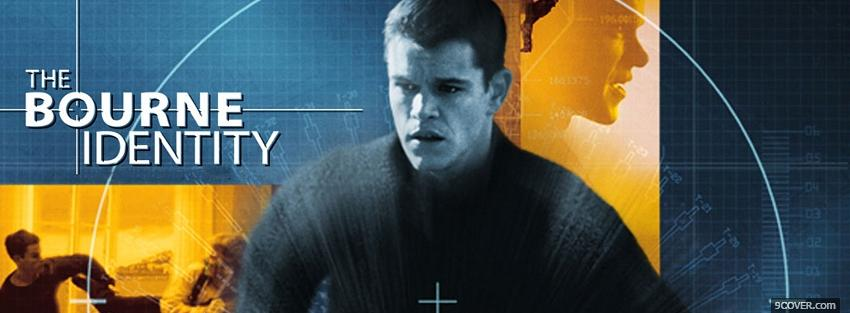 Photo movie the bourne identity Facebook Cover for Free