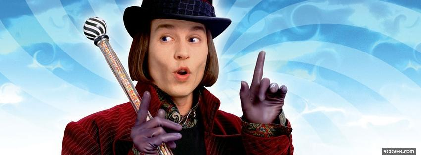 Photo movie willi wonka Facebook Cover for Free