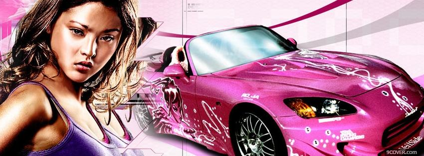 Photo 2 fast 2 furious sukis car Facebook Cover for Free