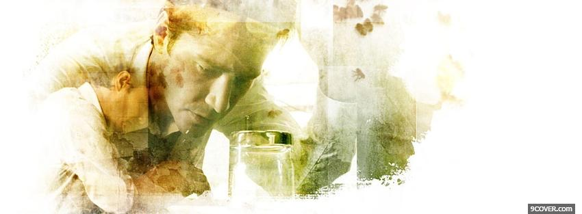 Photo movie drawed constantine Facebook Cover for Free