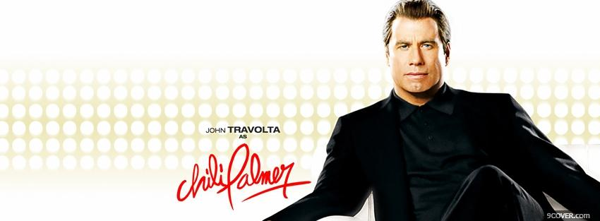 Photo movie john travolta be cool Facebook Cover for Free