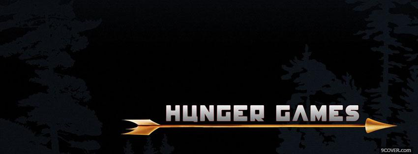Photo movie the hunger games and arrow Facebook Cover for Free