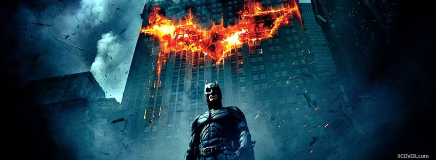 Photo the dark night Facebook Cover for Free
