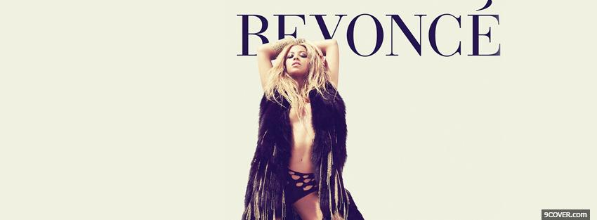Photo r n b singer beyonce music Facebook Cover for Free