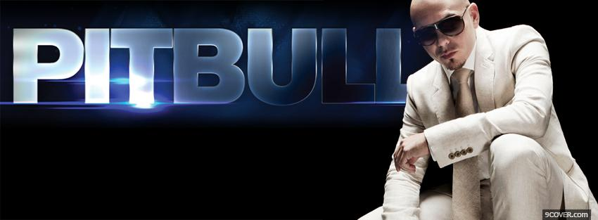 Photo music pitbull Facebook Cover for Free
