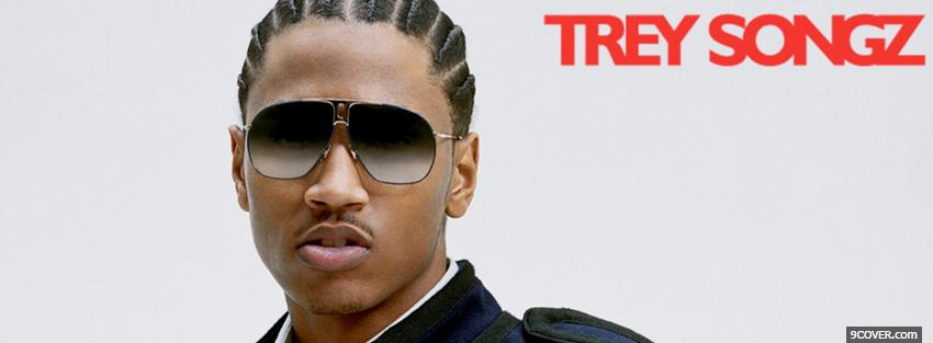 Photo trey songz with sunglasses music Facebook Cover for Free