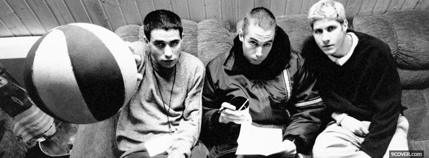Photo beastie boys ball in the air Facebook Cover for Free