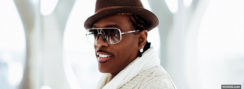 Photo charlie wilson all in white Facebook Cover for Free