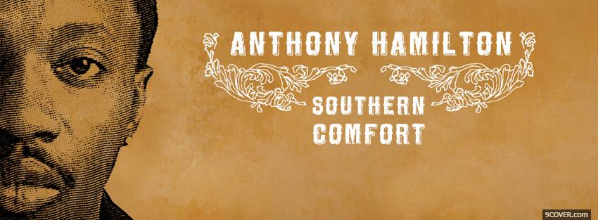 Photo anthony hamilton southern comfort Facebook Cover for Free