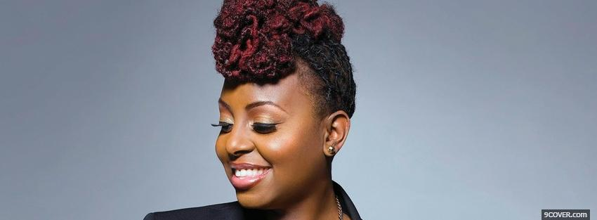 Photo ledisi so into you music Facebook Cover for Free