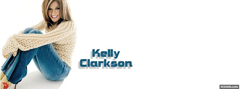 Photo music kelly clarkson Facebook Cover for Free
