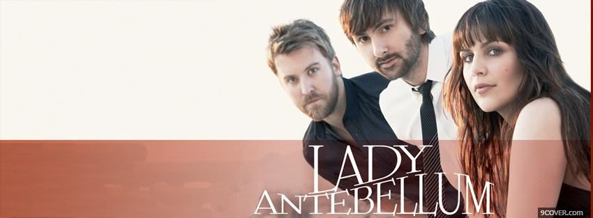Photo lady antebellum Facebook Cover for Free