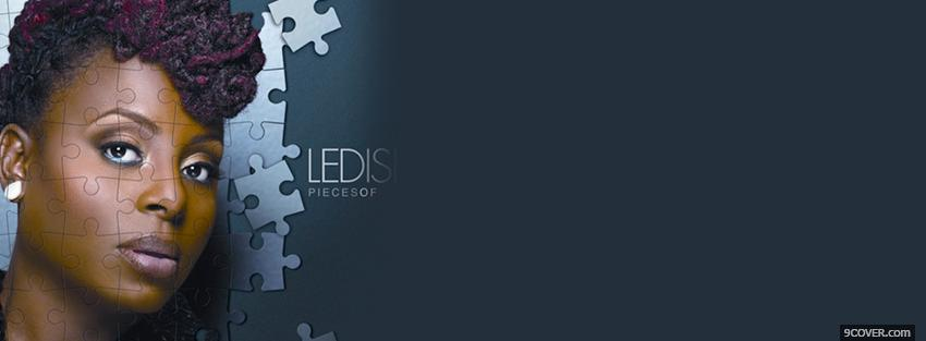 Photo ledisi abstract puzzle music Facebook Cover for Free