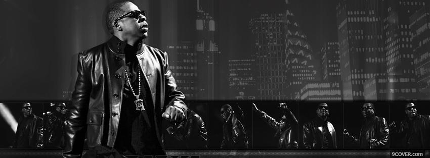 Photo jay z and buildings music Facebook Cover for Free