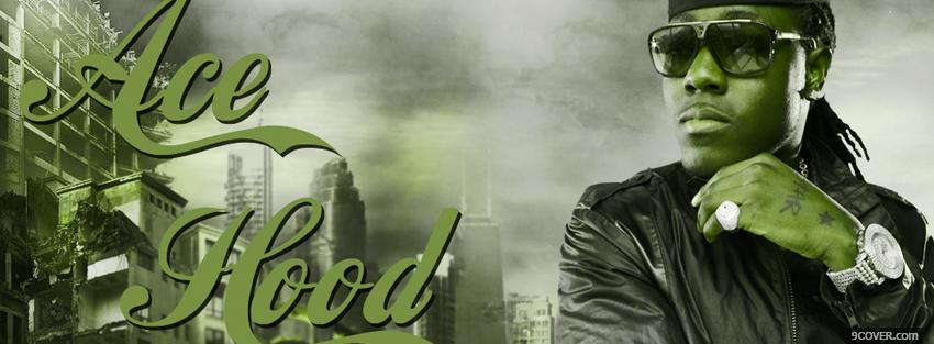 Photo music ace hood Facebook Cover for Free