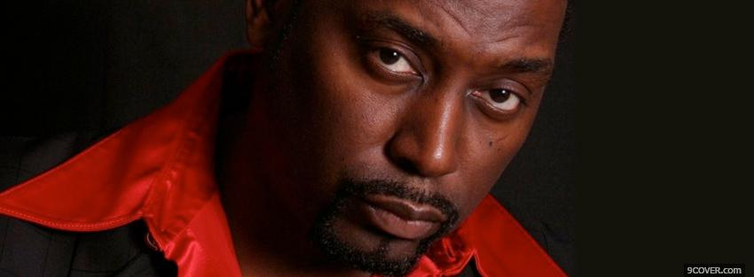 Photo serious big daddy kane music Facebook Cover for Free