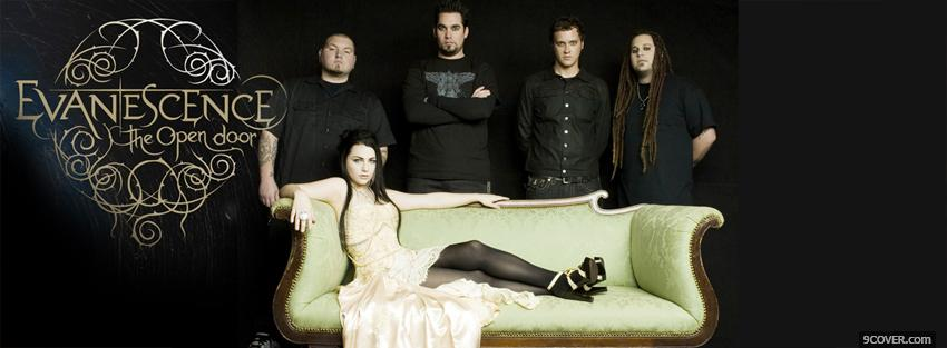 Photo music evanescence the open door Facebook Cover for Free