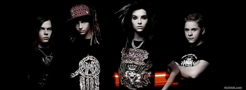 Photo music tokio hotel band Facebook Cover for Free